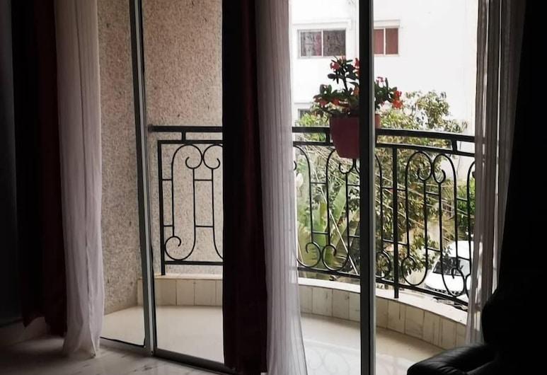 南蒂住宅酒店, 達卡, 經典公寓, 3 間臥室, 非吸煙房, 城市景, 露台