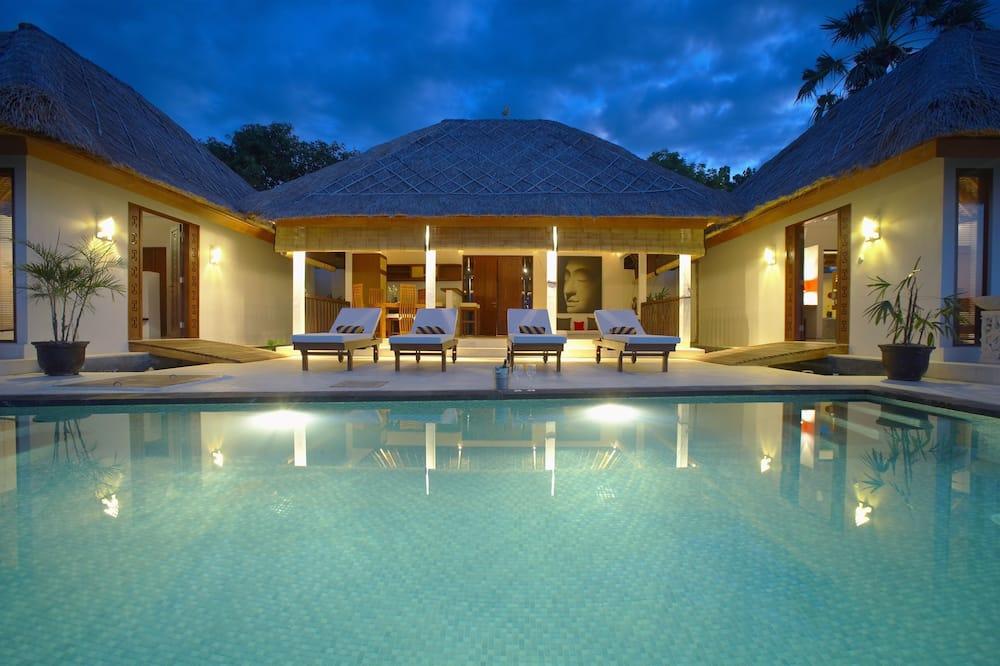 Vila Panorama, kolam renang pribadi, pemandangan samudra - Area Keluarga