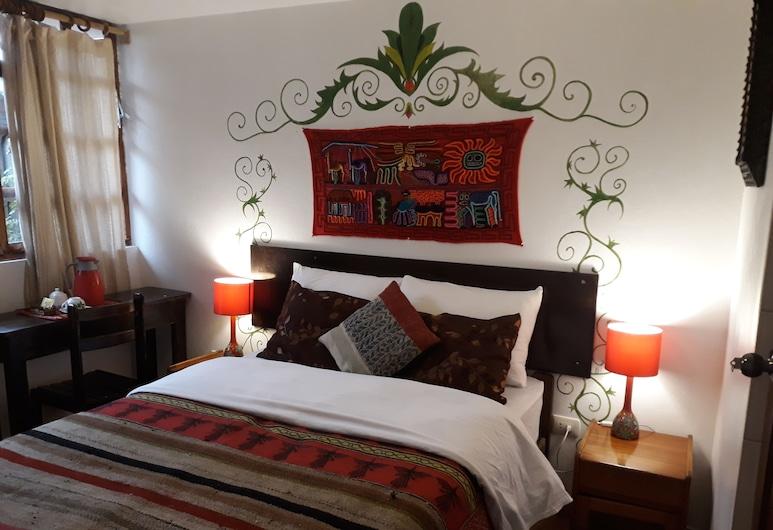 Mallku Guest House, Cusco, Dvoulůžkový pokoj, dvojlůžko, soukromá koupelna, Pokoj