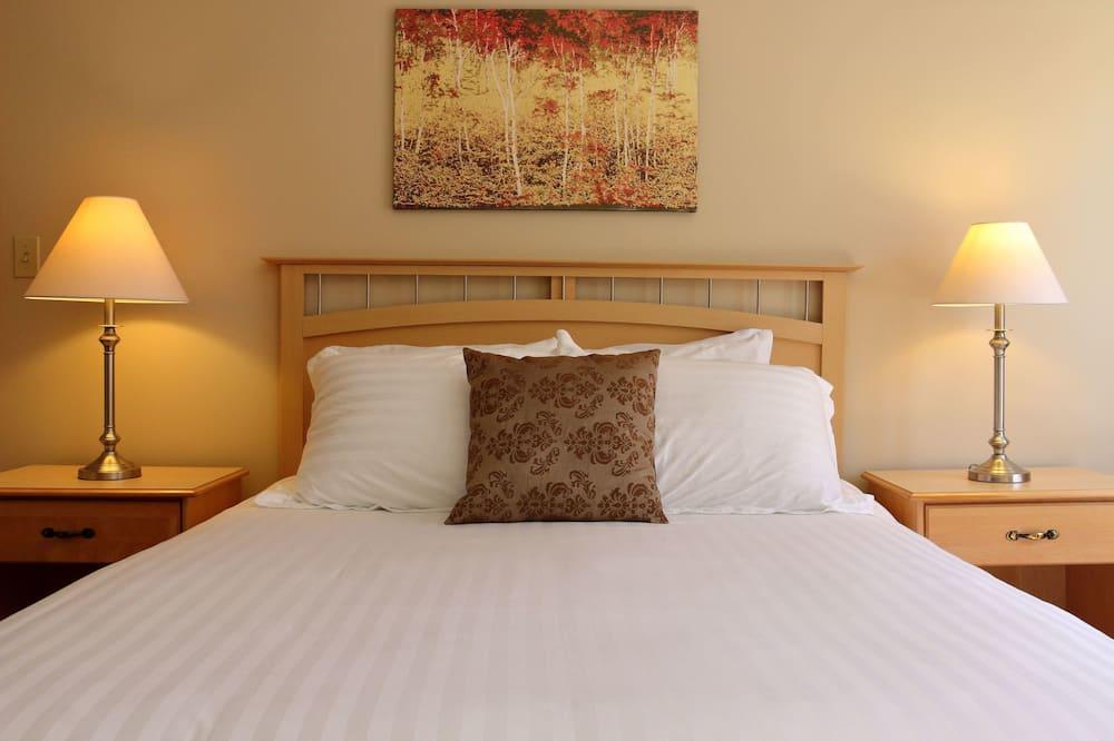 Værelse - 1 kingsize-seng - stueetage - Værelse