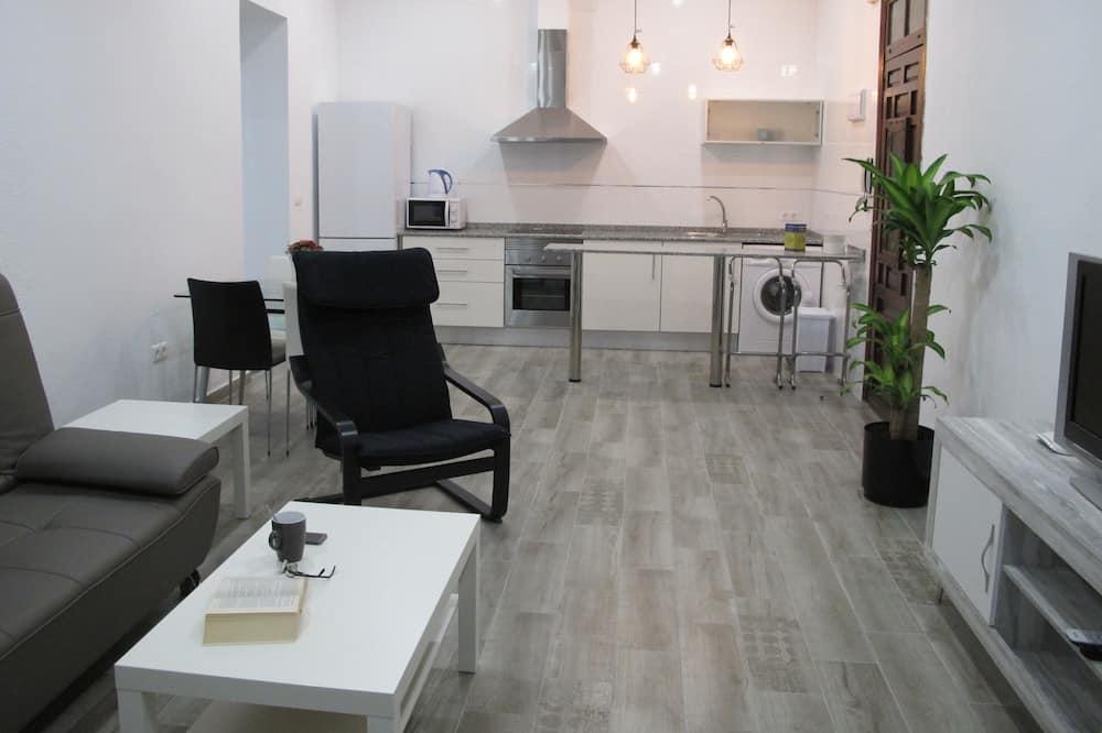 Apartmán typu Comfort, 2 ložnice, 2 koupelny - Obývací pokoj