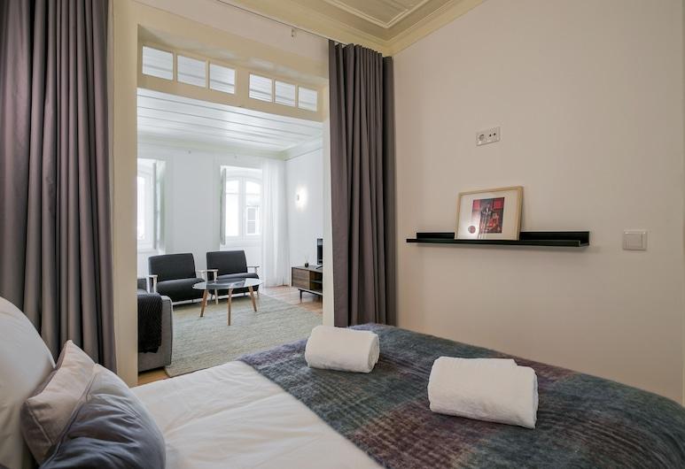 時髦客製化上城公寓酒店, 里斯本, 公寓, 2 間臥室, 客房
