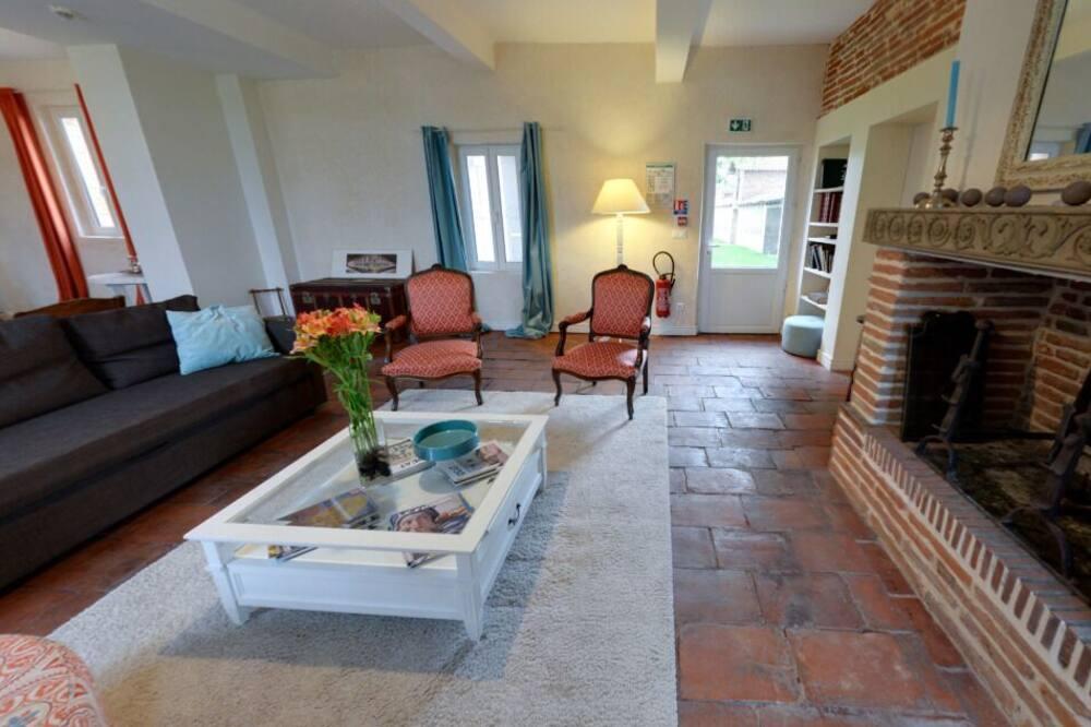 Rekreační domek (Manzana) - Obývací prostor
