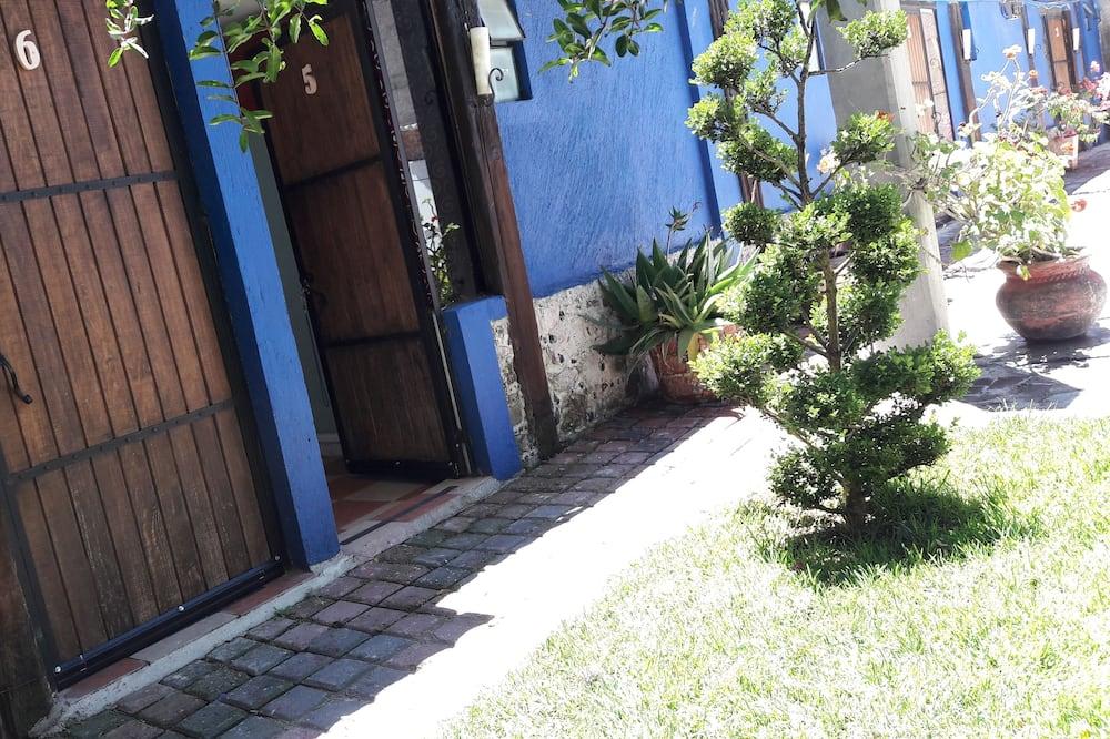 Štandardná jednolôžková izba, 1 dvojlôžko, výhľad na záhradu - Výhľad na záhradu