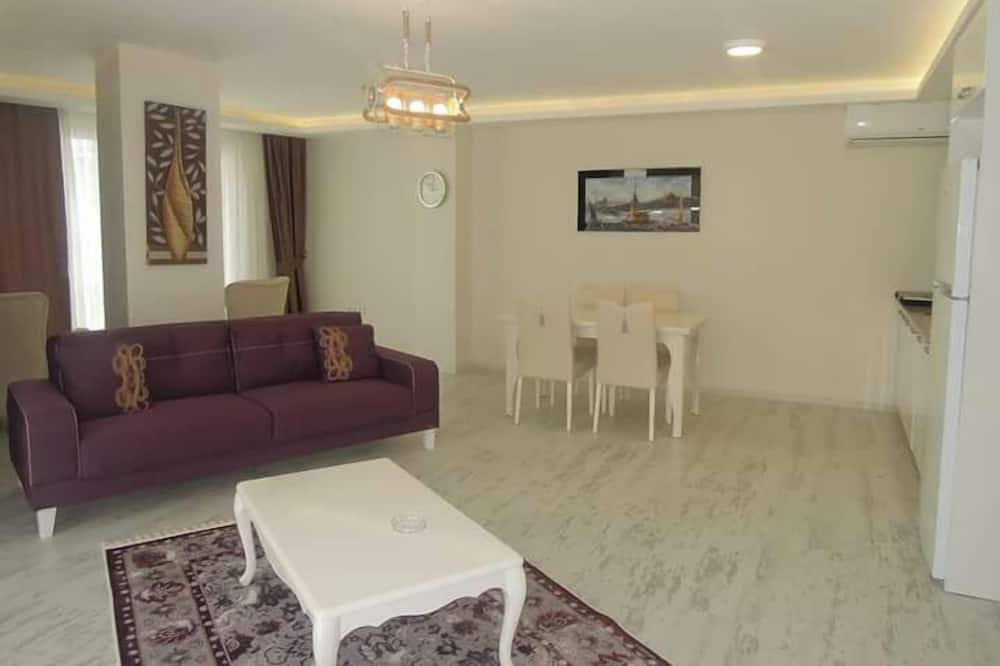 Luxury Apartment, Kitchen - Living Area