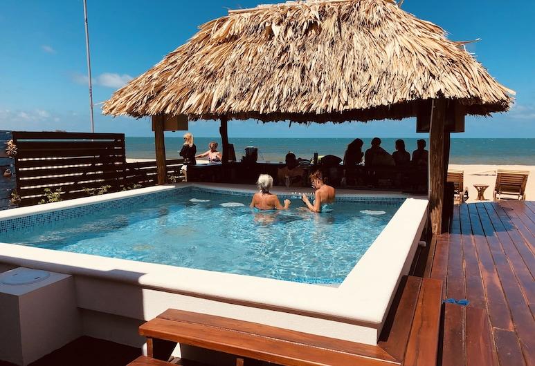 Ocean Breeze, Placencia, Economy Studio, 1 Queen Bed, Beach View, Beachside, View from Hotel