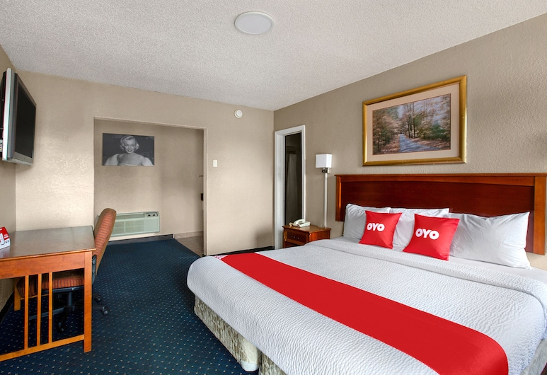OYO Inn Dallas South, Dallas, Kamer, 1 kingsize bed, Kamer