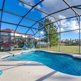 Ferienhaus, Mehrere Betten (113BLL Disney 5 Bedroom Pool Home Wit) - Innenpool