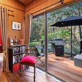 Романтическая вилла, 1 двуспальная кровать «Квин-сайз», вид на горы - Зона гостиной