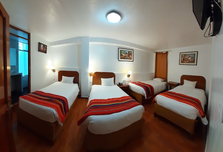 Hotel Wiracocha Inn, Machu Picchu, Chambre Quadruple, Chambre