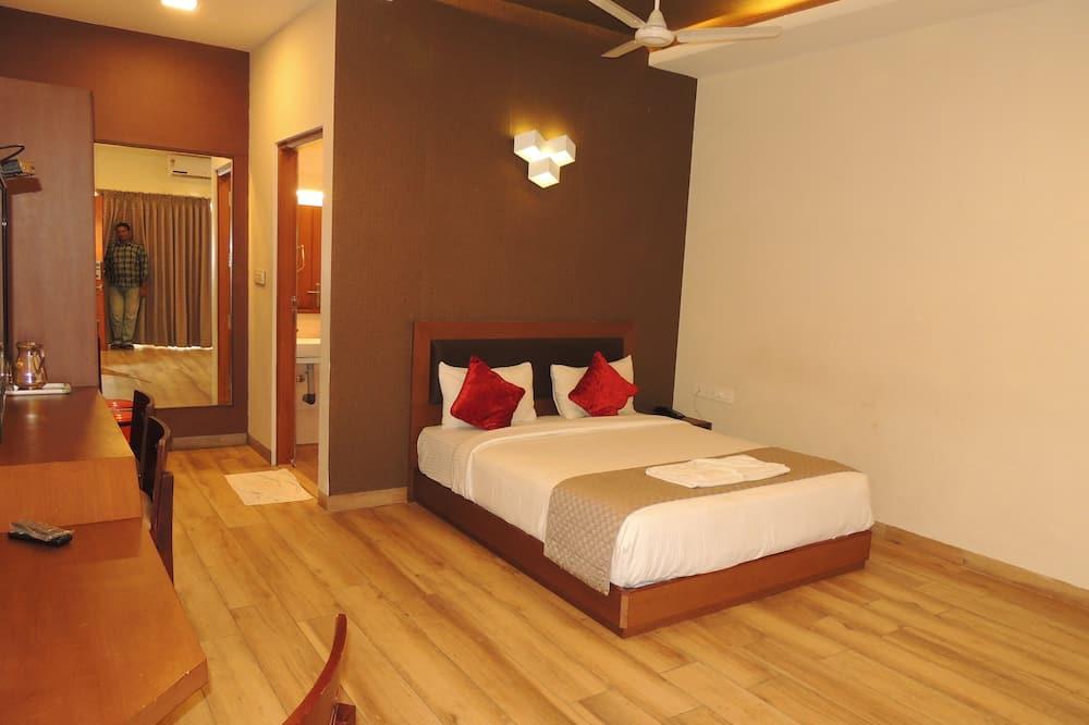 Deluxe szoba kétszemélyes ággyal, 1 kétszemélyes ágy, kilátással a városra - Kiemelt kép