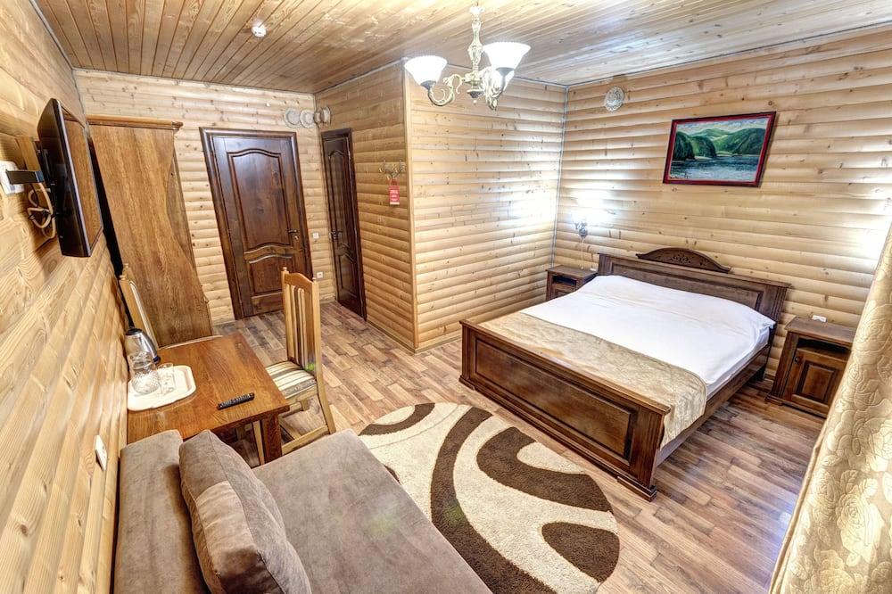 Žemesnės liukso klasės numeris, 1 didelė dvigulė lova - Svetainė