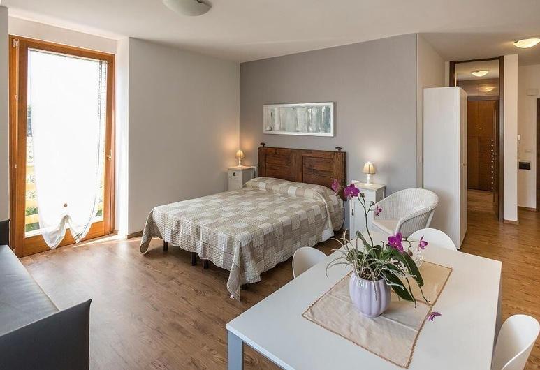 لو سيرفيت أبارتمنتس, اركو, شقة سوبيريور - غرفة نوم واحدة (Rocchetta), منطقة المعيشة