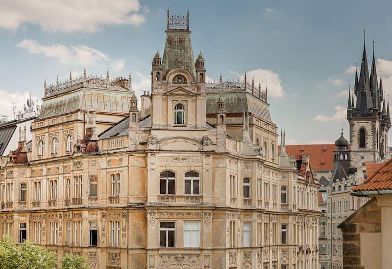 Gold Art Apartments, Prag, Exclusive Stüdyo, Şehir Manzaralı, Oda manzarası
