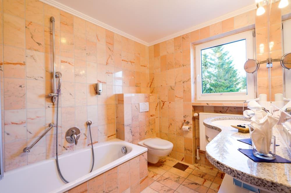 雙人房 (Alpspitz Doppelzimmer) - 浴室