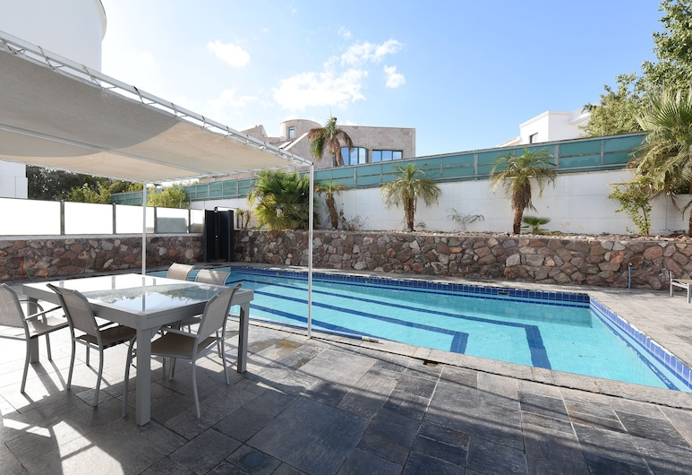 Seven Mirrors, Eilat, Deluxe Triple Room, Pool View, Guest Room View