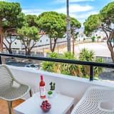 Superior-Apartment, 1Queen-Bett und Schlafsofa, Meerblick - Balkon