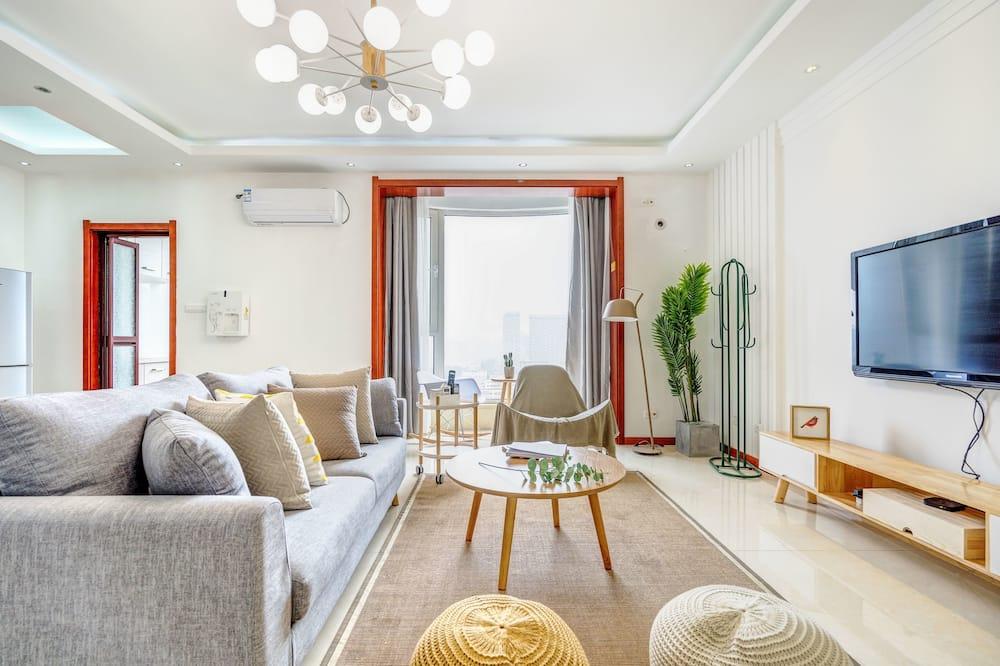 Családi apartman, 3 hálószobával - Nappali