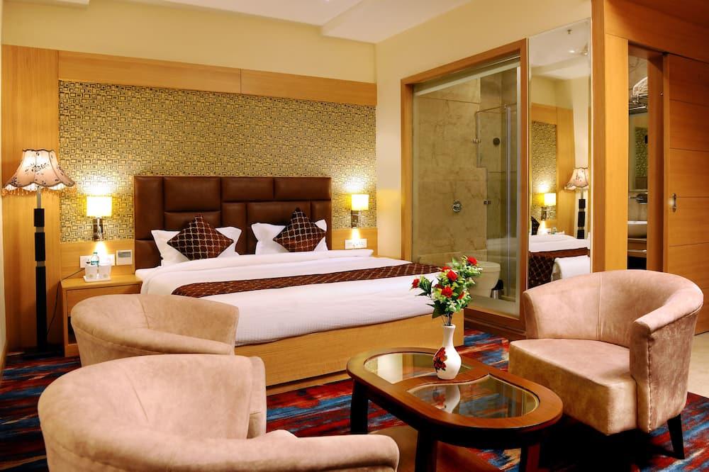 行政客房, 1 張特大雙人床, 城市景 - 客房