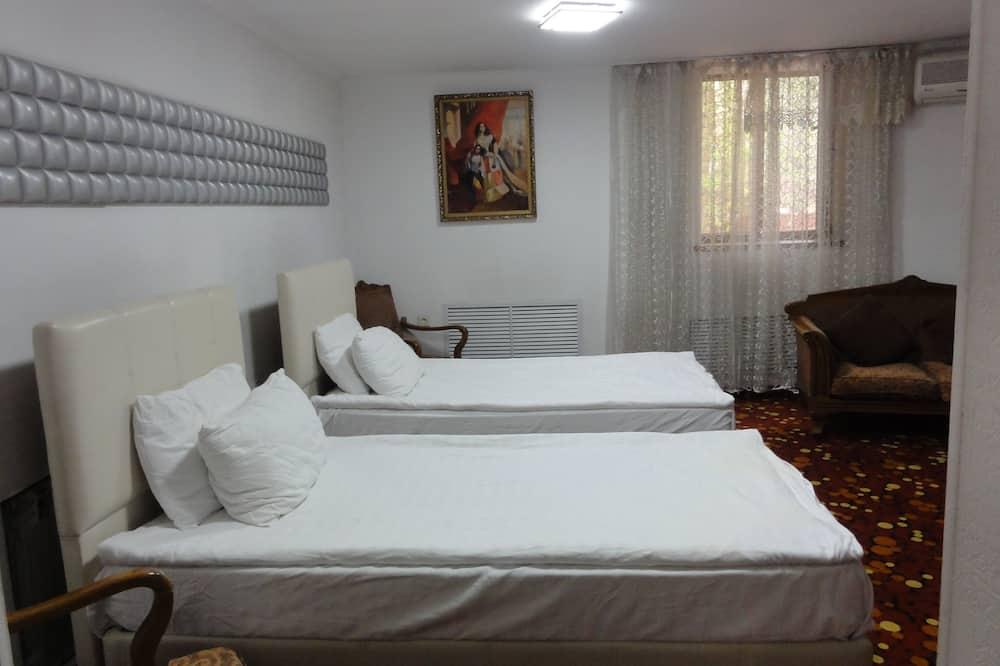 Elitārs numurs, 1 divguļamā karalienes gulta - Dzīvojamā zona