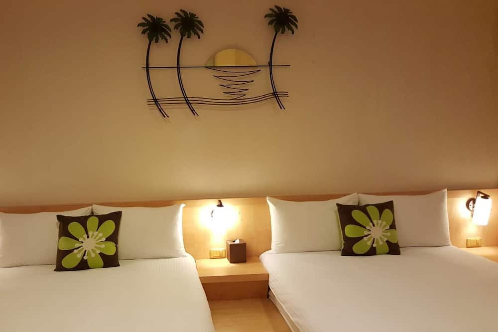 Habitación cuádruple, 2 camas dobles - Habitación