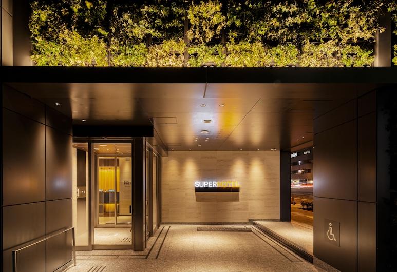 Super Hotel Tokyo Hamamatsucho, Tóquio, Fachada do Hotel - Tarde/Noite