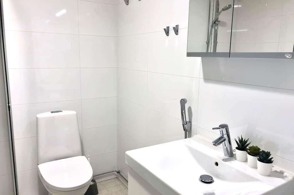 City-studiosviitti, Kaupunkinäköala - Kylpyhuone