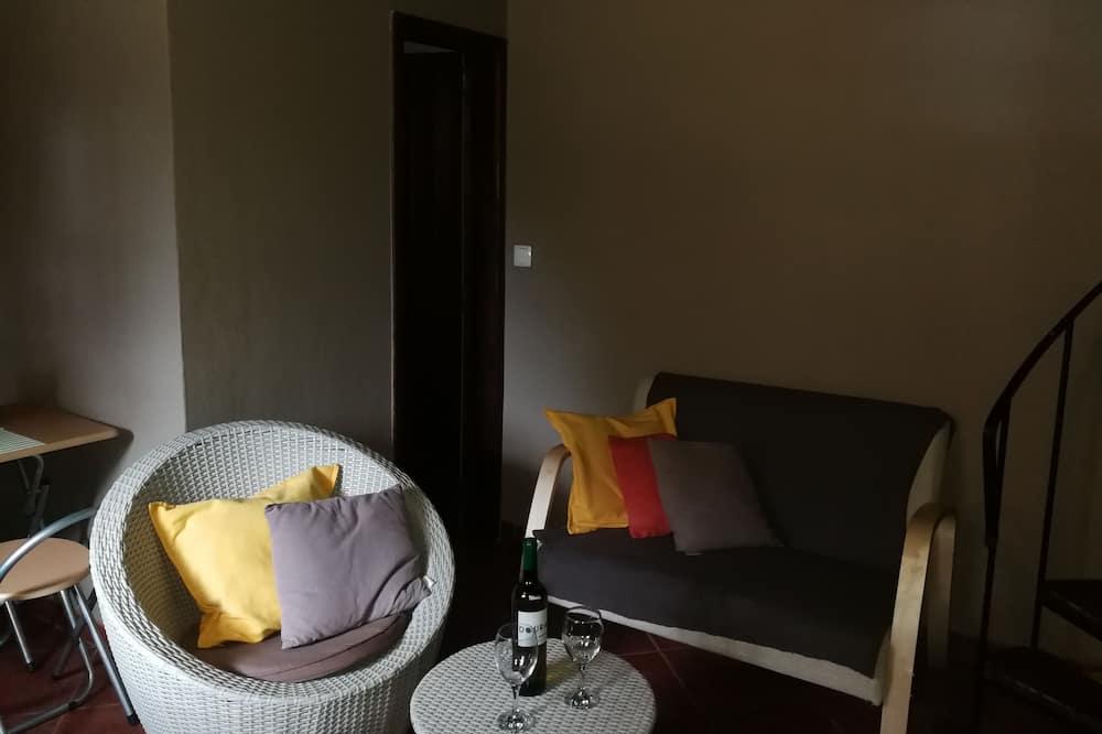 Rekreačná chata, 1 spálňa, výhľad na hory - Obývacie priestory