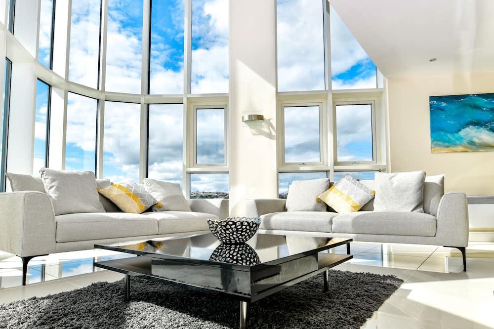 Luxury Duplex - Living Area