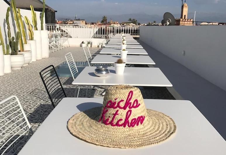 Riad Aicha Kitchen , Marrakesch, Terrasse/Patio