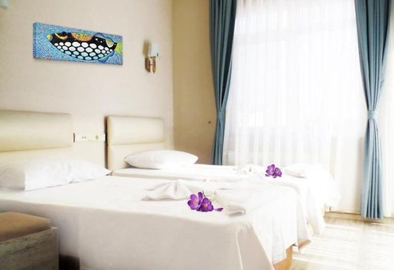 Datca Deniz Hotel, Datça, Standard İki Ayrı Yataklı Oda, Kısmi Deniz Manzaralı, Oda