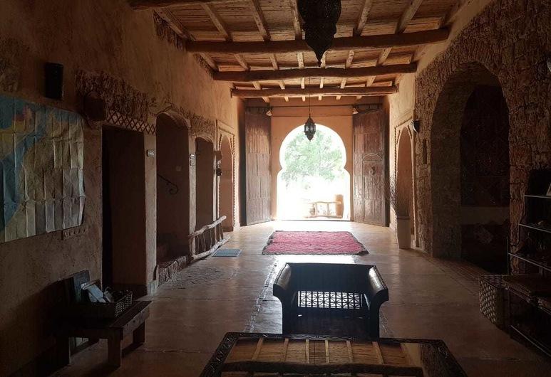 Riad Aghbalou, Demnate, Hotel-Innenbereich