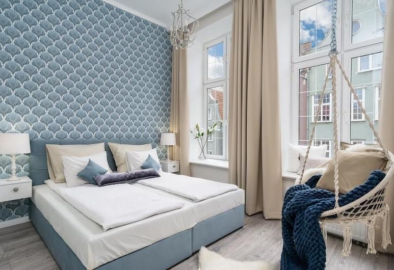 Elite Apartments Piwna Premium, Gdansk, Deluxe-íbúð, Herbergi