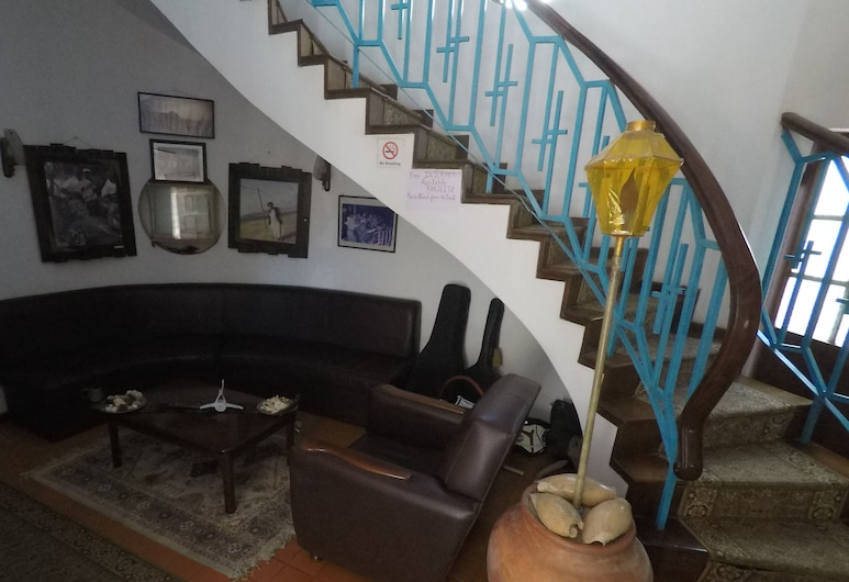Bed and breakfast Residencial Maravilha, Sao Vicente, Staircase