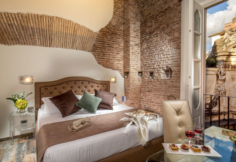MySuite Tower Pantheon, Rome, Chambre Double Deluxe, Chambre
