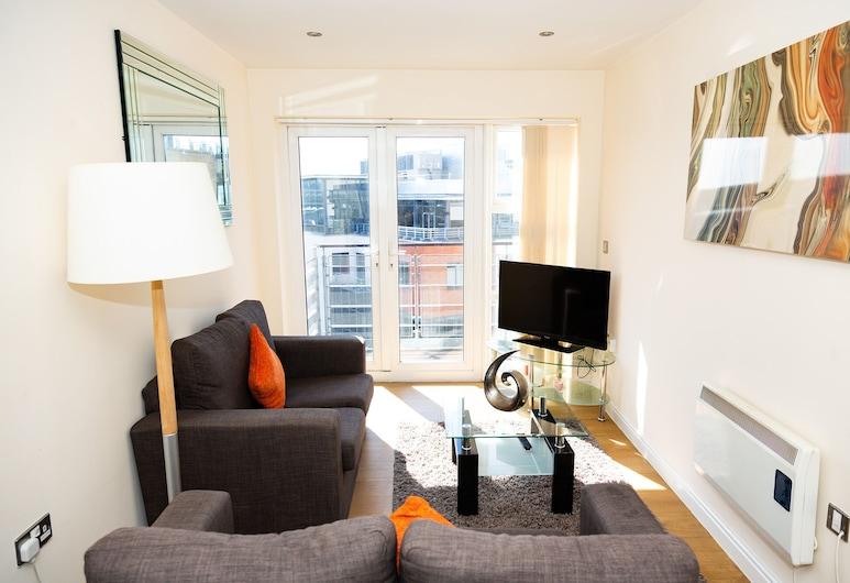 AA City Centre, Newcastle-upon-Tyne, Apartament typu Superior, prywatna łazienka (2 Bedroom), Salon