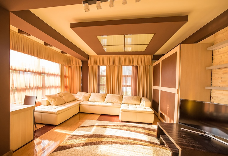 Simple Bucharest Boutique , Bucarest, Suite Deluxe, balcon, Chambre