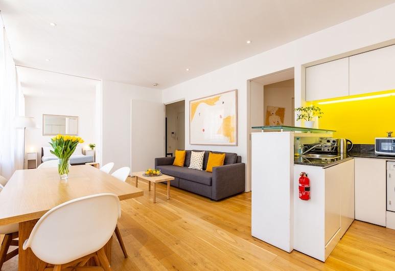Oxford Circus Apartments, London, Külaliskorter (Stunning), Elutuba