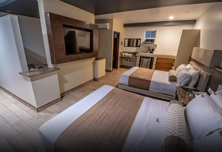 Hotel Eiffel, Ensenada, Tremannsrom – comfort, flere senger, Gjesterom