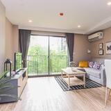 דירה מפוארת, 2 חדרי שינה - אזור מגורים