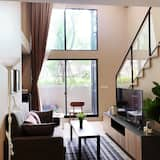 חדר סיגנצ'ור, חדר שינה אחד, קומת ביניים - סלון