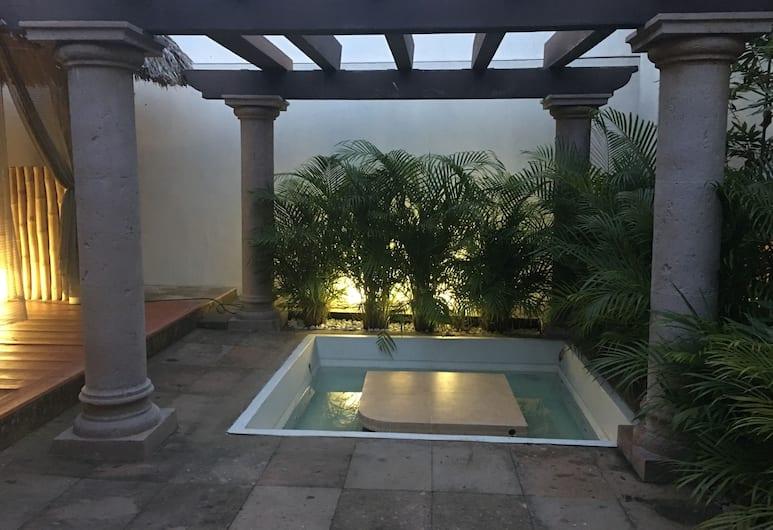 Amoe Hotel Boutique & Spa, Boca del Rio, Outdoor Spa Tub