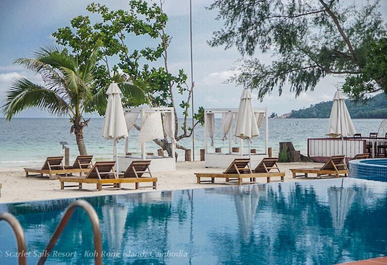 Scarlet Sails Resort, Koh Rong, Außenpool