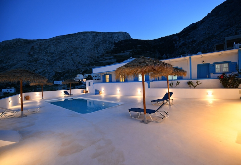 Ancient Thira Hotel, Santorini, Terrace/Patio