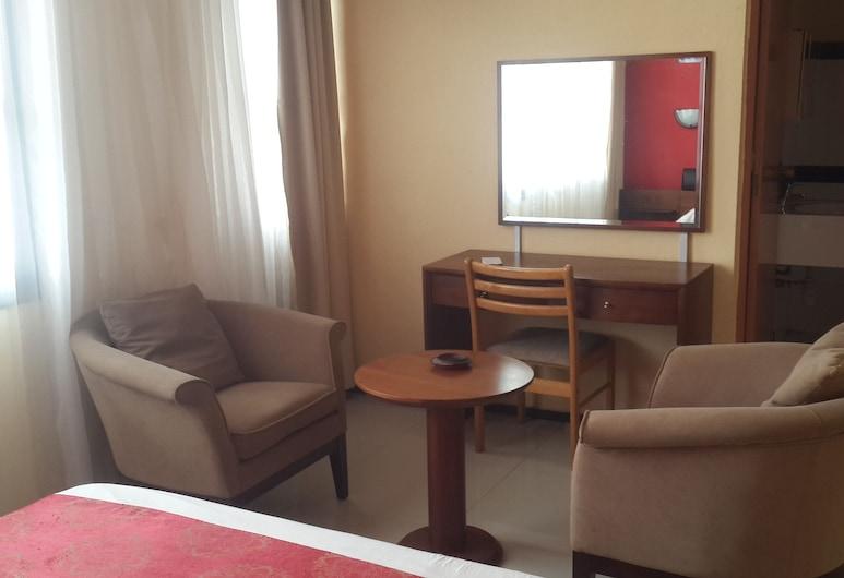 廣場旅館酒店, 菲亞納蘭楚阿, 單人房, 客房