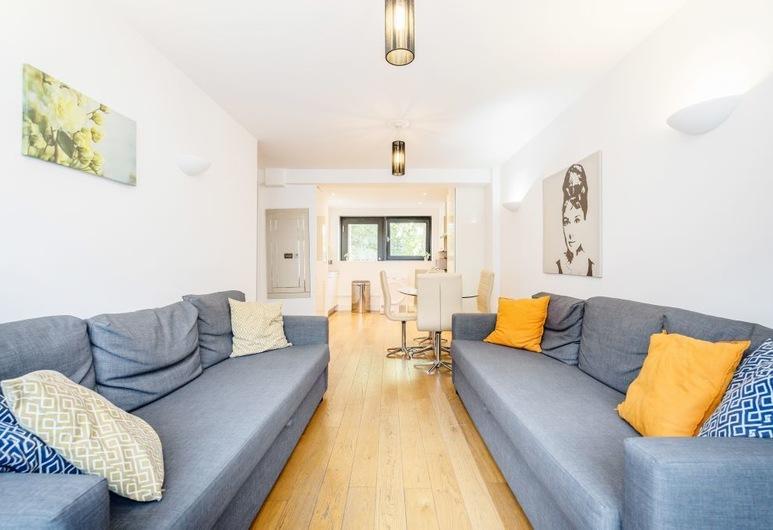 Drummond D Apartment, Lontoo, Huoneisto, 2 makuuhuonetta, Oleskelualue