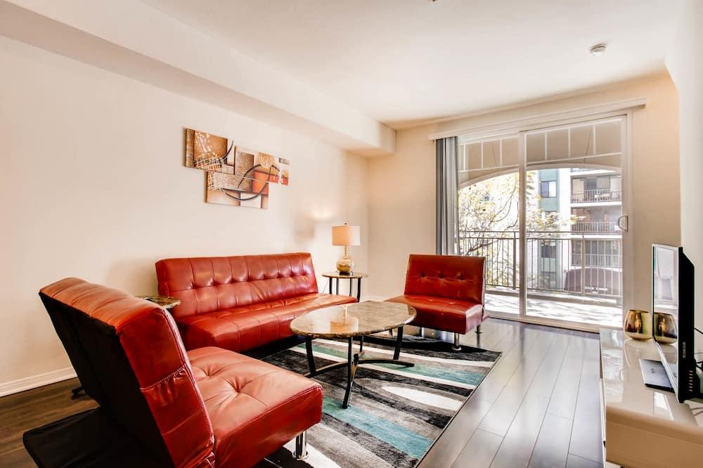 Dzīvokļnumurs, divas guļamistabas, virtuve - Dzīvojamā zona
