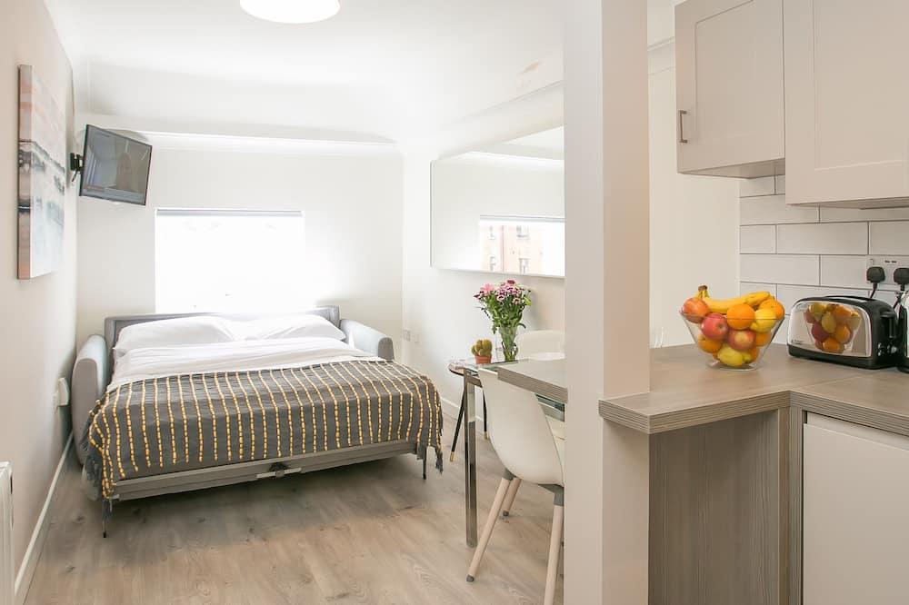 スーペリア アパートメント ベッド (複数台) 禁煙 - リビング エリア