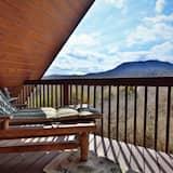 Namiņš, divas guļamistabas, kamīns, skats - Balkons