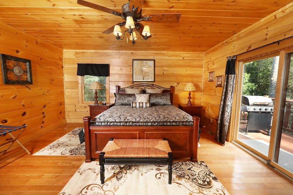 Domek wypoczynkowy, Wiele łóżek, jacuzzi - Pokój